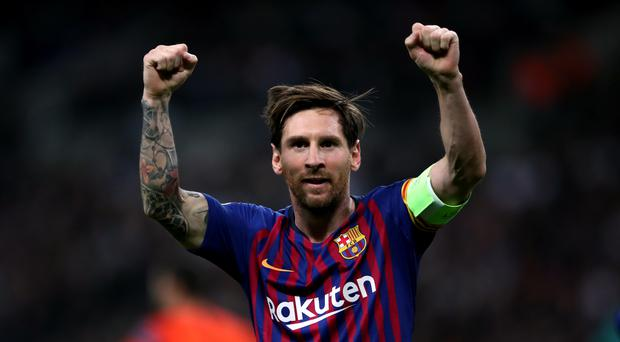Lionel Messi is pivotal to Barcelona's hopes of beating Manchester United. (Nick Potts/PA)
