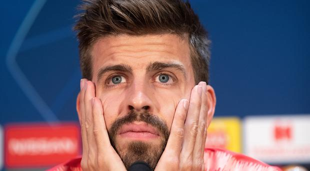 Gerard Pique is relishing a return to Old Trafford (Ian Hodgson/PA)