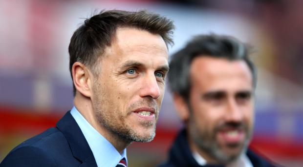 Neville was pleased to see his players 'suffer' (Bradley Collyer/PA)