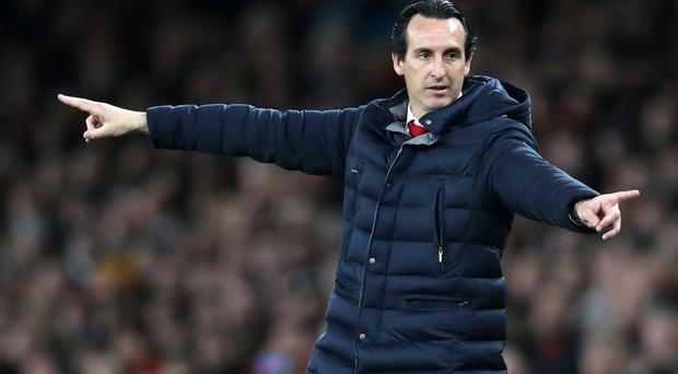 Arsenal manager Unai Emery wants the Gunners to cash in on their strong home form against Napoli (Adam Davy/PA Images)..