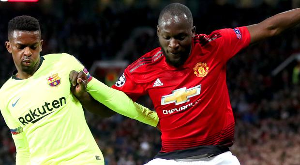 Romelu Lukaku has called on Manchester United to be more arrogant in Barcelona (Nick Potts/PA)