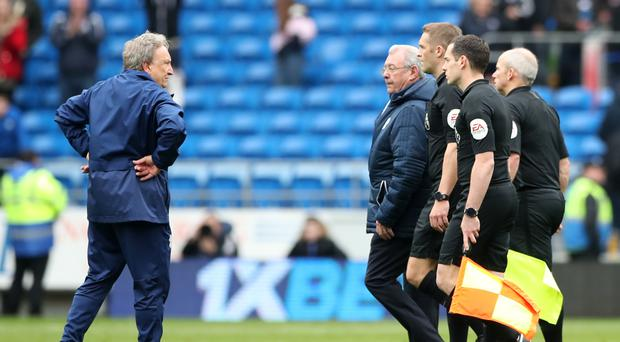 Neil Warnock is facing a Football Association charge after criticising match officials (Nick Potts/PA)
