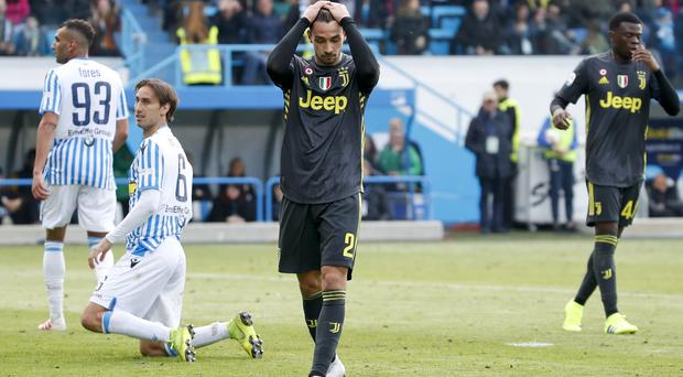 Juventus were made to wait to clinch the title (Antonio Calanni/AP)