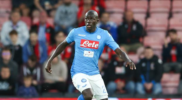 Napoli's Kalidou Koulibaly is convinced his side can stage a comeback against Arsenal. (Scott Heavey/PA)