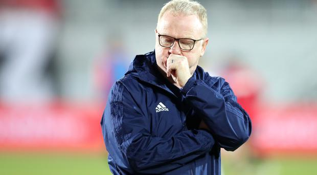 Alex McLeish has been sacked by Scotland (Adam Davy/PA)