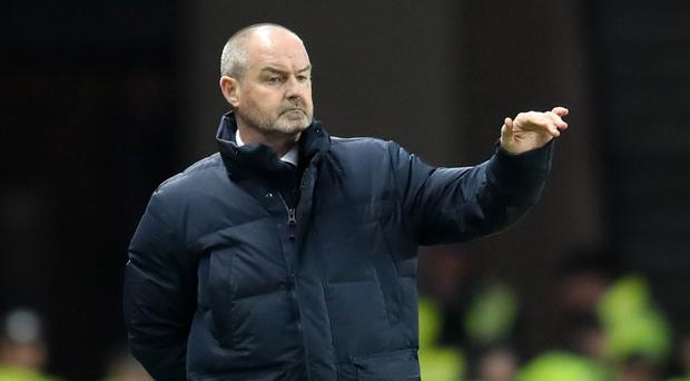Kilmarnock manager Steve Clarke has been coy about Scotland job (Jane Barlow/PA)