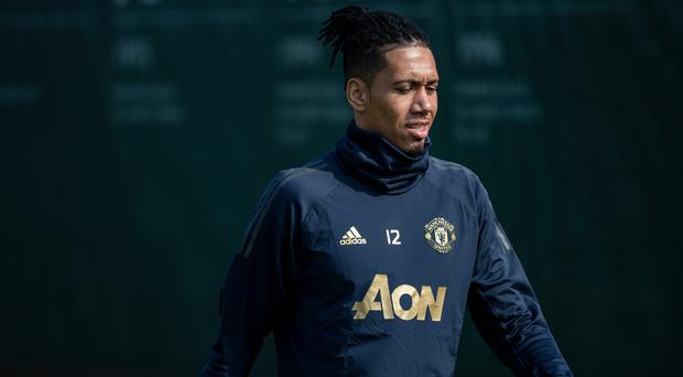Manchester United defender Chris Smalling supported the #Enough campaign (Ian Hodgson/PA)