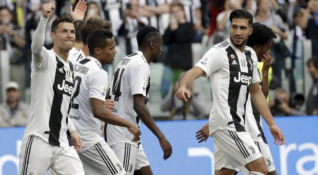 Juventus produced an impressive second-half recovery (Luca Bruno/AP)