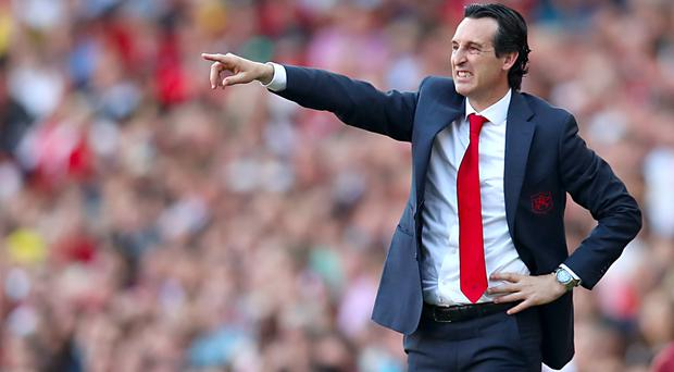 Unai Emery fears Arsenal missed a big opportunity against Crystal Palace (Bradley Collyer/PA)