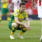 Norwich missed a chance to secure promotion at Stoke but the job is almost done (Martin Rickett/PA)
