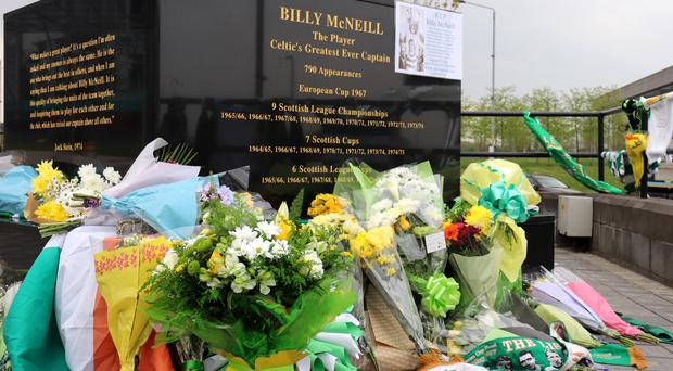 Billy McNeill has died aged 79 (Lucy Christie/PA)