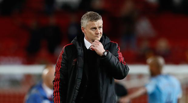 Ole Gunnar Solskjaer was left to reflect on another defeat for United (Martin Rickett/PA)