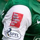 Education charity Show Racism the Red Card has a bigger role in Scotland and is funded by the SFA but gets little backing from the game south of the border (Jeff Holmes/PA)