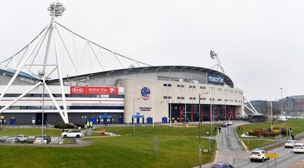 Bolton's home game against Brentford on Saturday has been called off (Dave Howarth/PA)