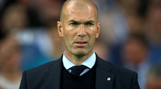 Zinedine Zidane is expected to make a lot of changes at Real Madrid this summer (Nick Potts/PA)