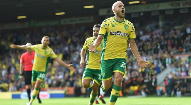 Teemu Pukki's goals have been key for Norwich this season (Joe Giddens/PA)