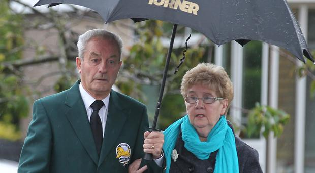 Stevie Chalmers has died aged 83 (Andrew Milligan/PA)