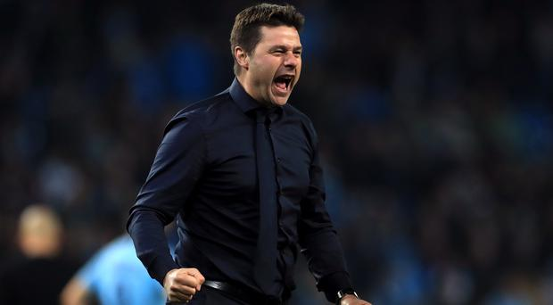 Mauricio Pochettino suggests what he has achieved is bigger than winning a trophy (Mike Egerton/PA)