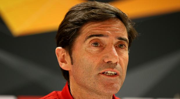 Marcelino's Valencia take on Arsenal (Nigel French/PA)