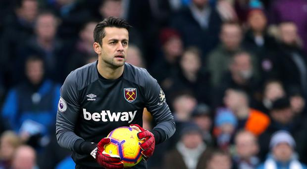 Lukasz Fabianski has excelled for West Ham this season (Richard Sellers/PA)