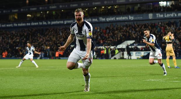 West Brom's Chris Brunt is ready to face Aston Villa (Joe Giddens/PA)