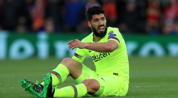 Luis Suarez accepts Barcelona deserve criticism for their collapse at Anfield (Peter Byrne/PA)
