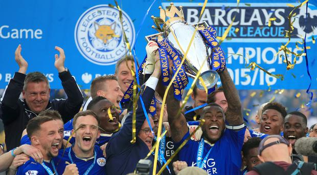 Leicester captain Wes Morgan helped guide his team to a remarkable Premier League title success (Nick Potts/PA)