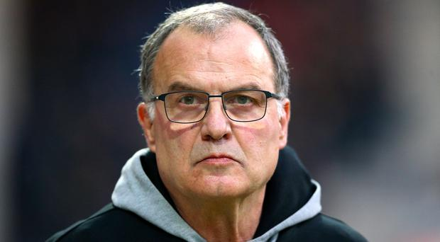 Marcelo Bielsa is excited by his side's play-off challenge (Nigel French/PA)