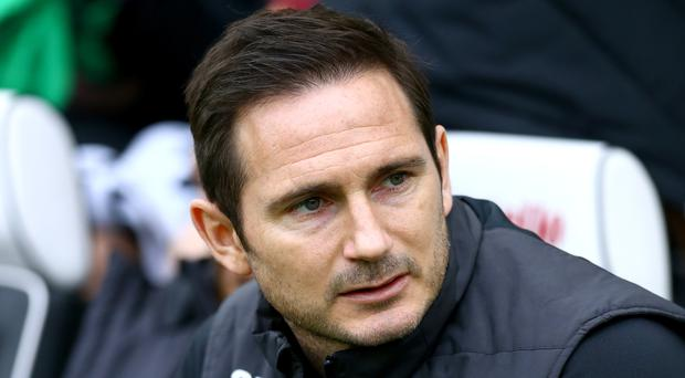 Frank Lampard expects a tough play-off game against Leeds (Gareth Fuller/PA)