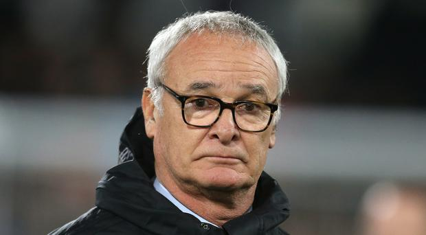 Claudio Ranieri wants his Roma side to be at their best as they take on the league champions (Steven Paston/PA)