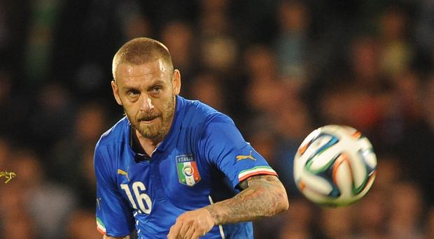 Daniele De Rossi is calling time on an 18-year career with Roma (Nigel French/PA)
