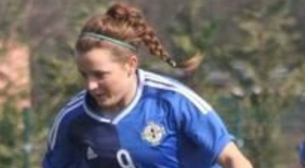 Clinical edge: Northern Ireland international Lauren Brennan bagged five goals in Sion Swifts' 10-0 win over Comber Rec