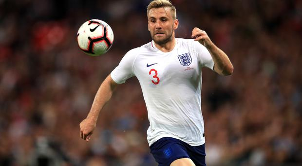 Luke Shaw was dropped from Gareth Southgate's latest England squad (Adam Davy/PA)