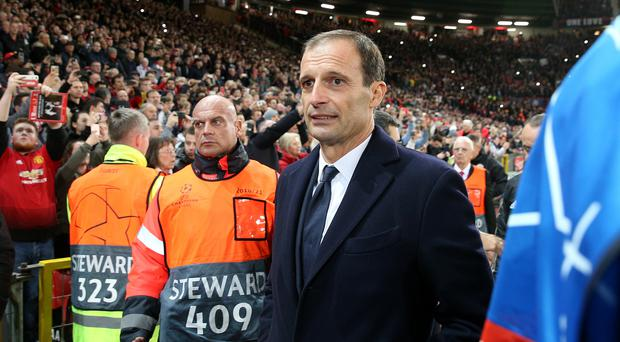 Juventus coach Max Allegri grateful to fans for 5 years' support
