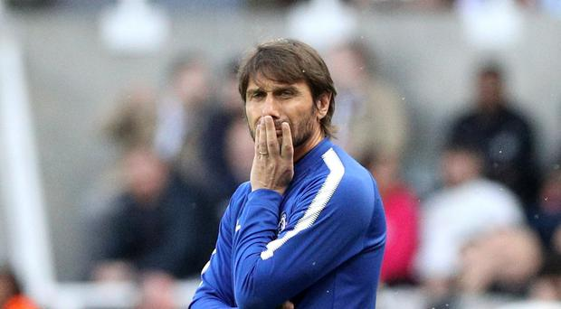 Antonio Conte has been linked with a return to Juventus (Owen Humphreys/PA)