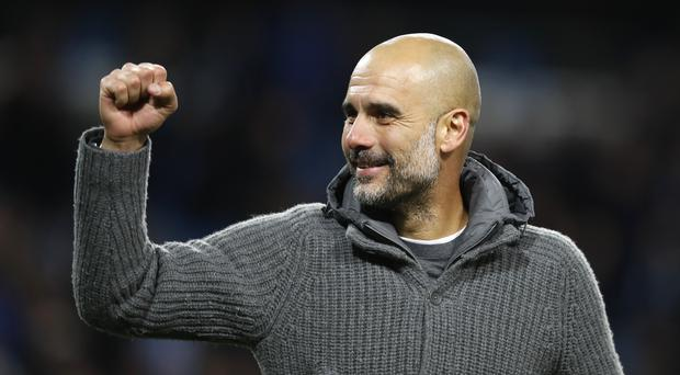 Pep Guardiola said he would accept any punishment UEFA might hand down over alleged breaches of Financial Fair Play rules (Martin Rickett/PA)