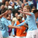Kevin De Bruyne took great pleasure in City's FA Cup success after an injury-affected season (Nick Potts/PA)