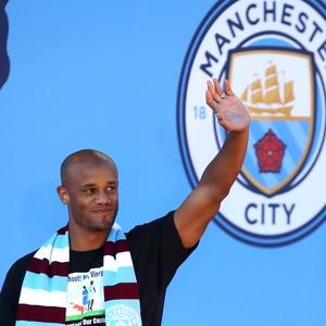 Vincent Kompany is saying goodbye (Nick Potts/PA)