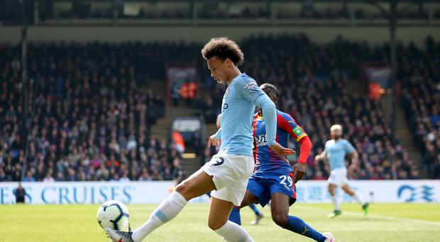 Manchester City's Leroy Sane is being targeted by Barcelona, reports say