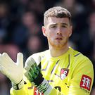 Bournemouth keeper Mark Travers has been tipped to have a bright future at international level (Mark Kerton/PA)