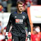 Bournemouth keeper Mark Travers made a fine Premier League debut against Tottenham (Mark Kerton/PA)