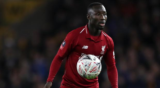Liverpool midfielder Naby Keita is ahead of schedule in his recovery from a thigh problem (Nick Potts/PA)