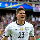 Former Germany striker Mario Gomez struck for Stuttgart (Jonathan Brady/PA)