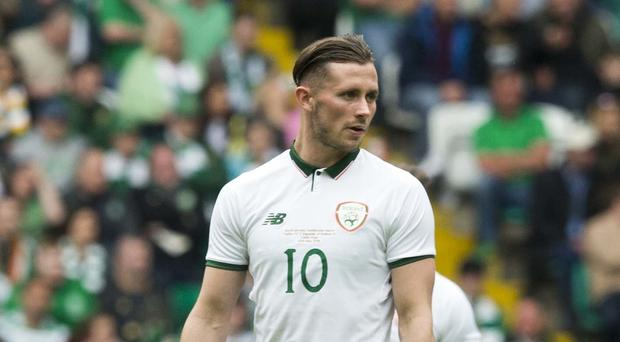 Alan Browne is determined to kick-start his Republic of Ireland career (Jeff Holmes/PA)