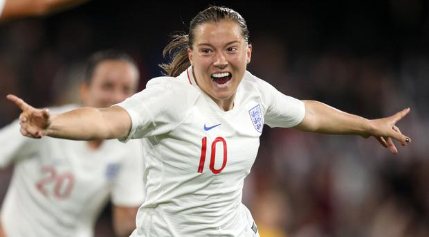 England Women's Fran Kirby is targeting World Cup success (Andrew Matthews/PA)