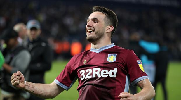 John McGinn won three trophies in Scotland but sees the Championship play-off final as the biggest game of his career so far (Nick Potts/PA)
