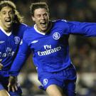 Wayne Bridge (right) secured Chelsea's surprise Champions League quarter-final win over Arsenal in 2004 (Nick Potts/PA)