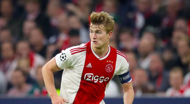 Matthijs De Ligt has attracted admiring glances from Europe's top clubs (Adam Davy/PA)