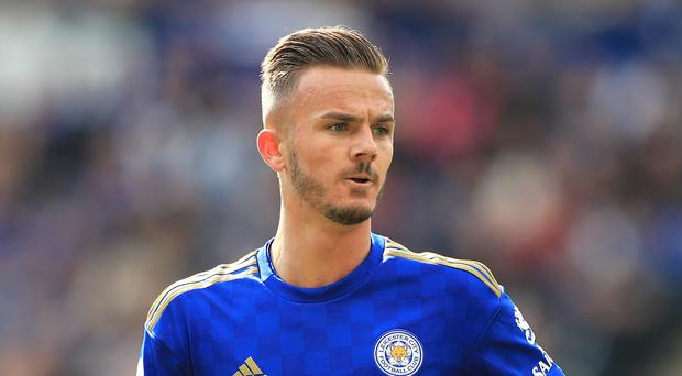 Leicester's James Maddison impressed in his first season in the Premier League. (Mike Egerton/PA)