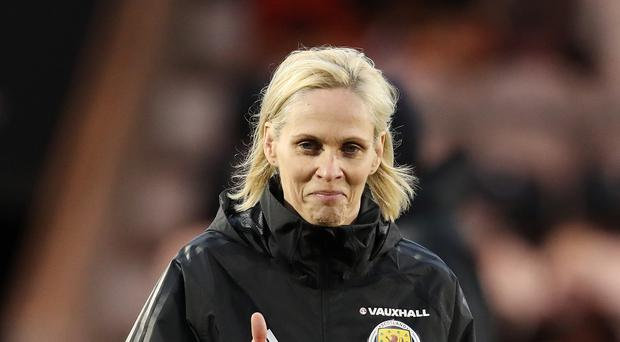 "Shelley Kerr looking for ""watershed moment"" for Scotland's women team with five-figure crowd (Andrew Milligan/PA)"